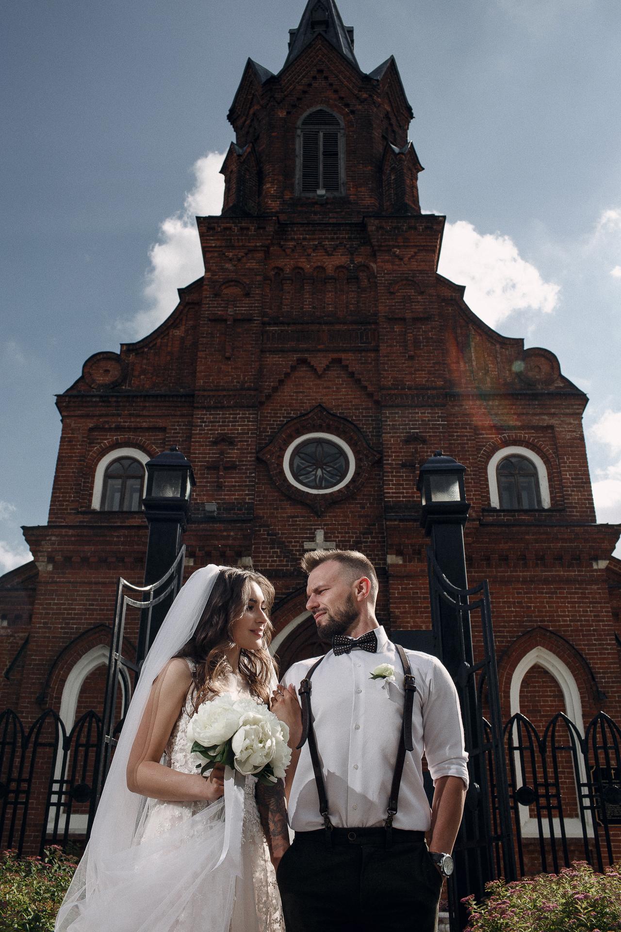 На нашей свадьбе нам удалось главное…