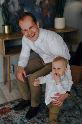 съёмка с ребёнком в студии во Владимире